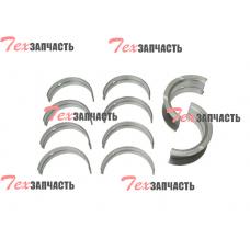 Вкладыши коренные STD Nissan H15, Nissan H20, Nissan H25 (комплект на двигатель) 12207-50K00, N-12207-50K00 (1220750K00, N1220750K00)