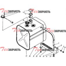 Бак топливный 4014М-1101011, 4014-1101011