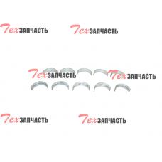 Вкладыши коренные 0,25 (комплект) Toyota 2Z 11704-78700-71, 117047870071