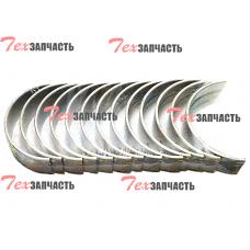 Вкладыши коренные 490BPG STD (комплект на двигатель) 490B–01033, 490B–01034
