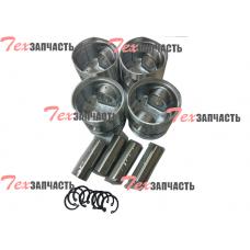 Поршень 490BPG (комплект на двигатель 4шт) 490B-04001В