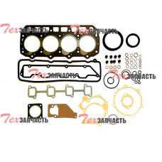 Комплект прокладок на двигатель Yanmar 4TNE92 (включая прокладку ГБЦ, под клапанную крышку, маслосъемные колпачки) 729901-92710, 72990192710