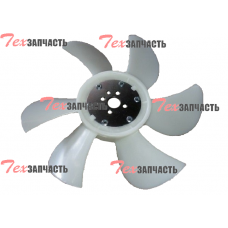 Крыльчатка вентилятора (вентилятор) Yanmar 4TNE92, 4TNE98 129916-44740, 12991644740