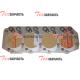 Прокладка головки блока цилиндров Isuzu 4JG2 (4JG2PE01) (Т=1,65 2 отв) 8-97066-197-0, 897066-1970, 8970661970