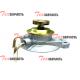 Насос топливоподкачивающий (крышка топливного фильтра) Komatsu 4D98E YM129917-55810, YM12991755810
