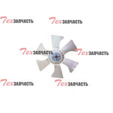 Крыльчатка вентилятора (вентилятор) Yanmar 4TNE92, 4TNE98, 129916-44740, 12991644740