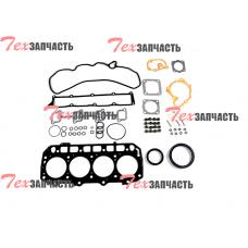 Комплект прокладок на двигатель Yanmar 4TNV94 (включая прокладку ГБЦ, под клапанную крышку, маслосъемные колпачки) 729906-92780, 72990692780