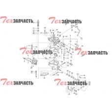 Ремкомплект карбюратора Nissan K15, Nissan K21, Nissan K25 16465-FF100, N-16465-FF100