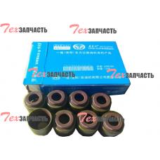 Маслосъемные колпачки (комплект на двигатель) LR4105, LR4108, LR6105, LR6108 R010019Y