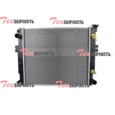 Радиатор (погрузчик с МКПП) Komatsu 3EA-04-43110, 3EA0443110