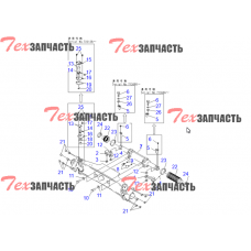 Головка рулевого цилиндра Komatsu HJMK-2093, HJMK2093
