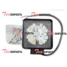 Фара для погрузчика, светодиодная, WD100×90 12V (LED)